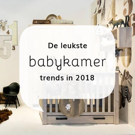 Babykamer trends 2018