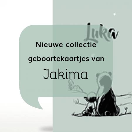 Nieuwe collectie geboortekaartjes van Jakima