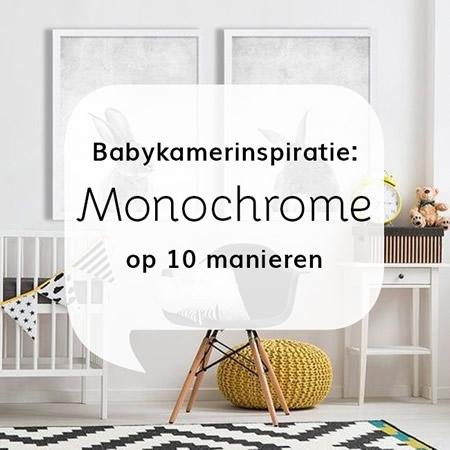 Babykamer: Monochrome