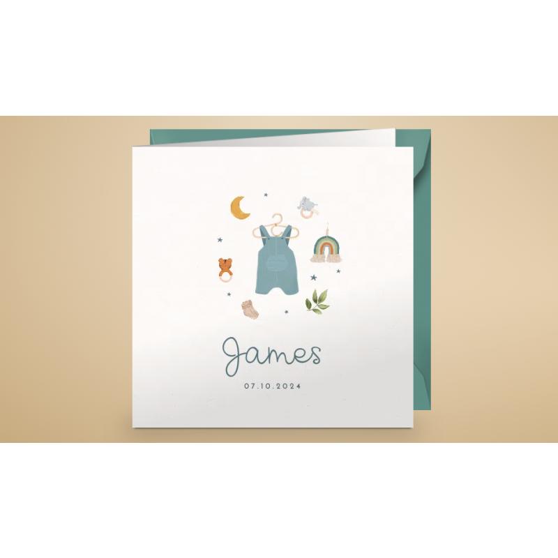 Geboortekaartje Lief kaartje