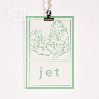 Geboortekaartje Aap Noot Mies Jet