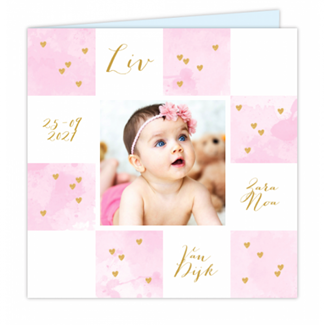 Geboortekaartje Foto geboortekaartje