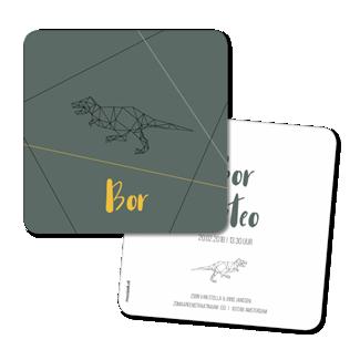 Geboortekaartje Geboortekaart - Bor