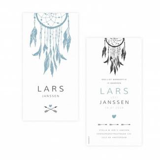 Geboortekaartje Geboortekaart - Lars