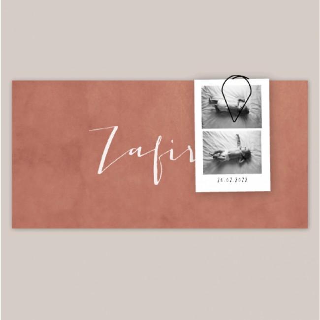Geboortekaartje Geboortekaart Zafira