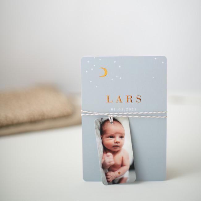 Geboortekaartje Geboortekaartje labeltje