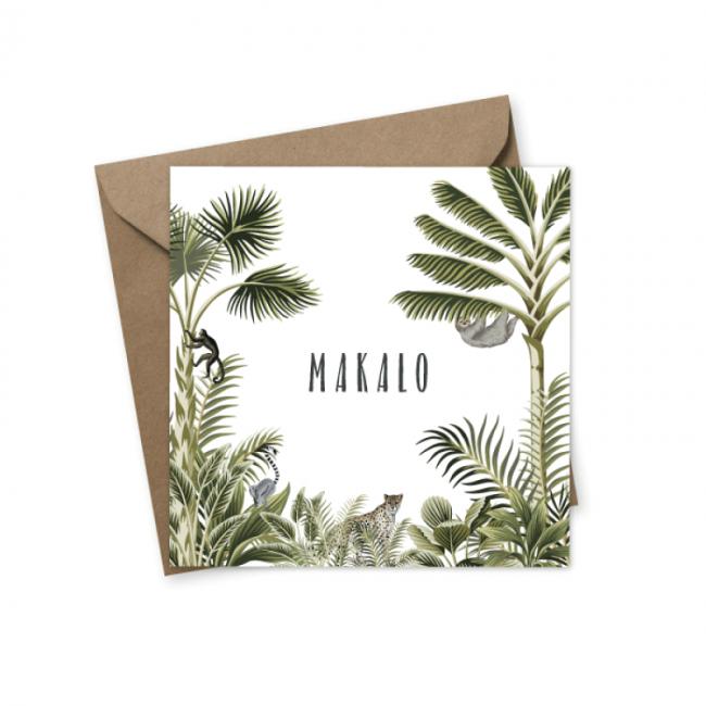Geboortekaartje Geboortekaartje  Makalo