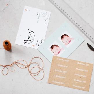 Geboortekaartje Labeltjes
