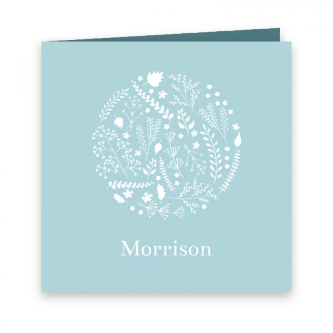 Geboortekaartje Morrison