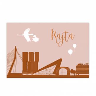 Geboortekaartje Rotterdam