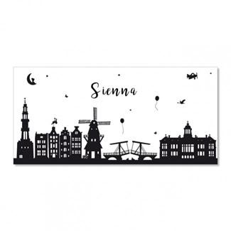 Geboortekaartje Skyline  |  Sienna