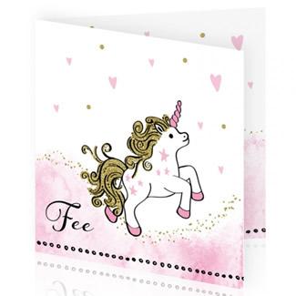 Geboortekaartje Unicorn dochtertje